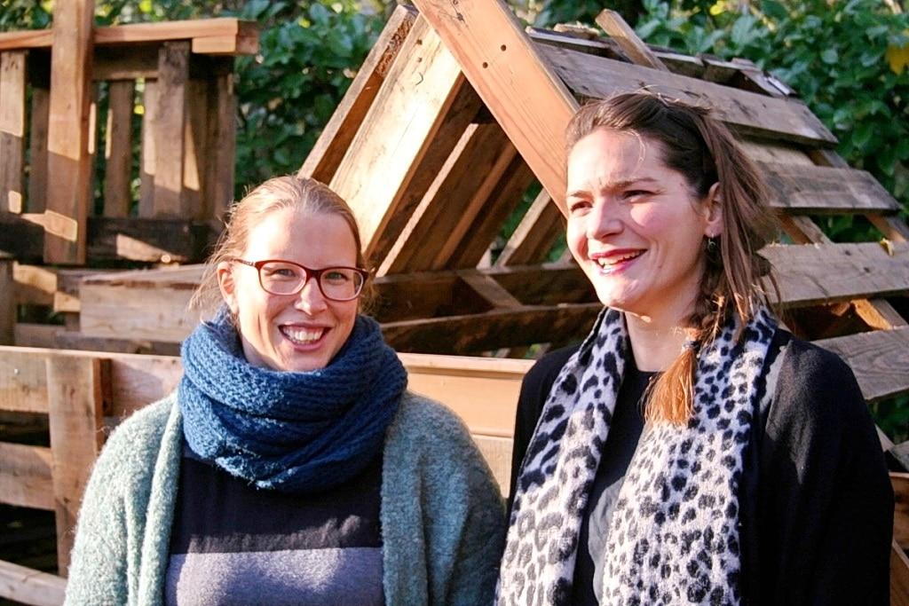 Lisa van der Winden en Karien Sondervan