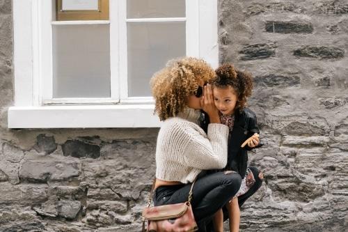 'Mama wil een minder dikke buik'- over afvallen en opvoeden